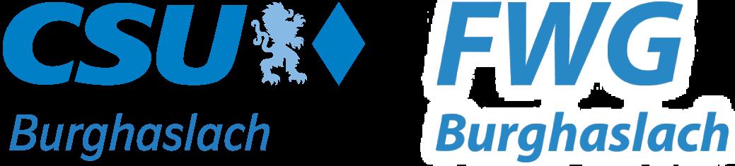 CSU & FWG Burghaslach Logo